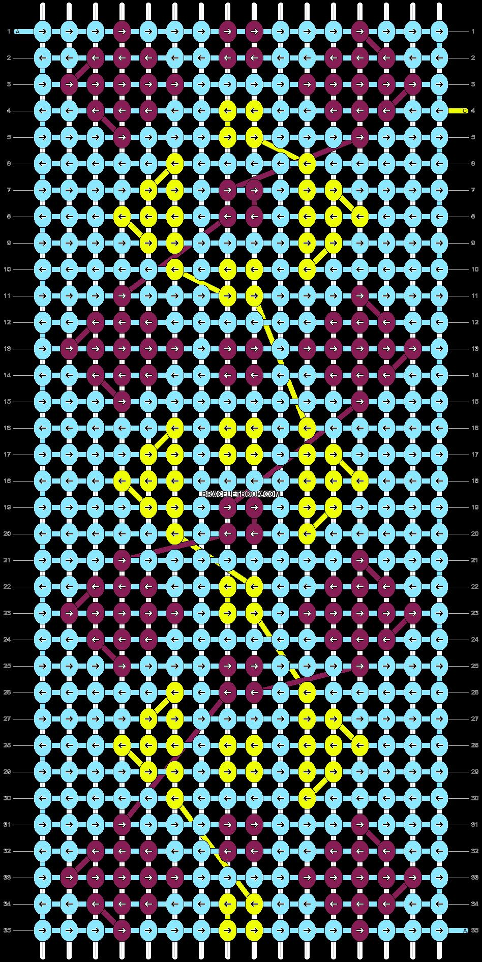 Alpha pattern #18381 pattern