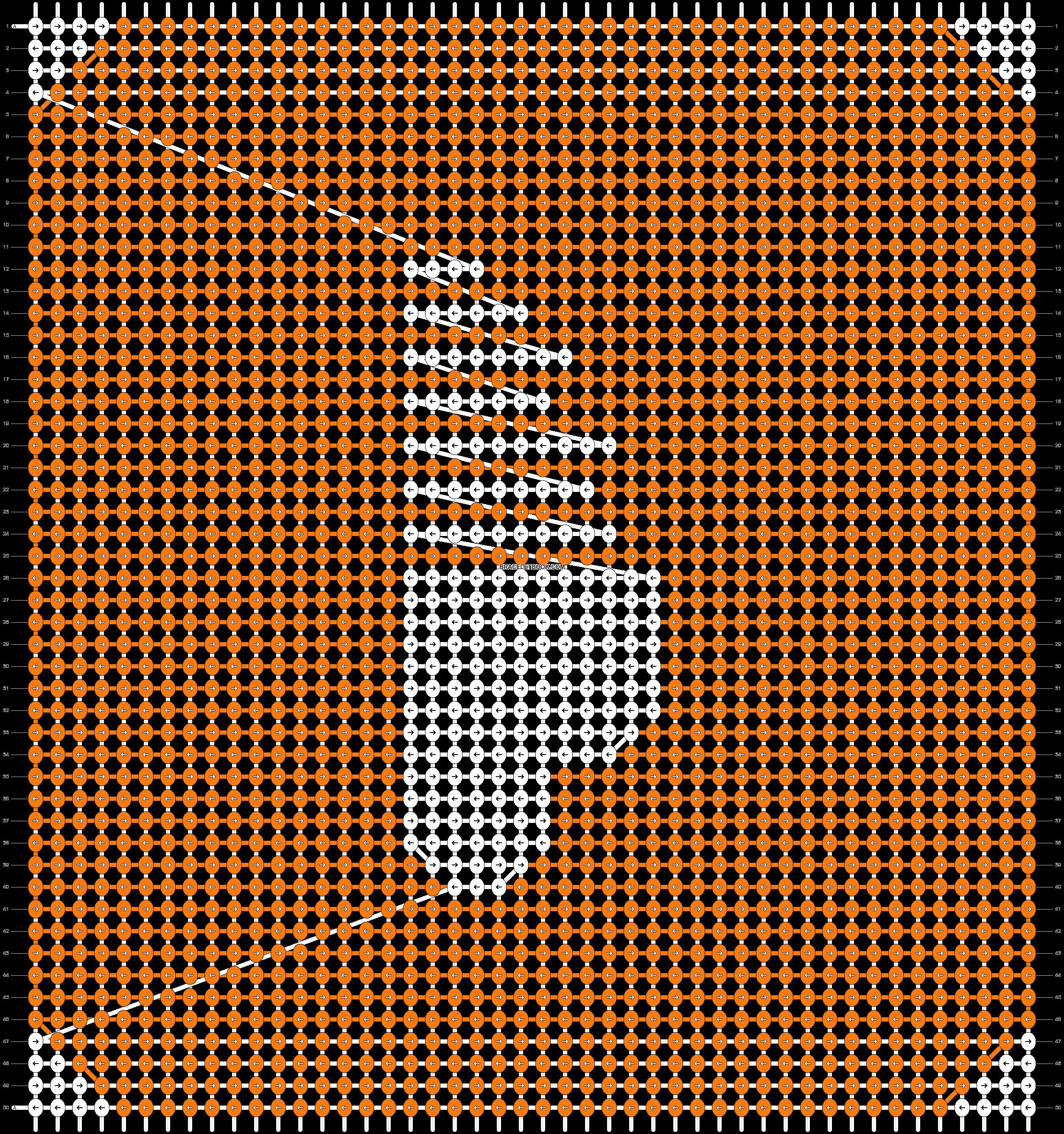 Alpha pattern #18383 pattern