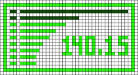 Alpha pattern #18393