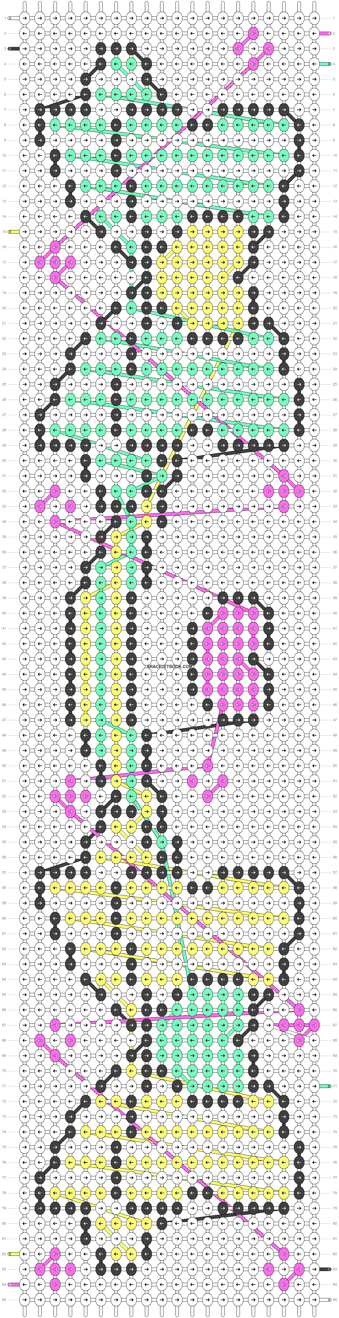 Alpha pattern #18394 pattern