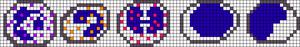Alpha pattern #18396