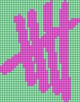 Alpha Friendship Bracelet Pattern #18400