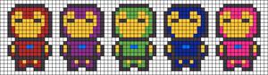 Alpha Friendship Bracelet Pattern #18407