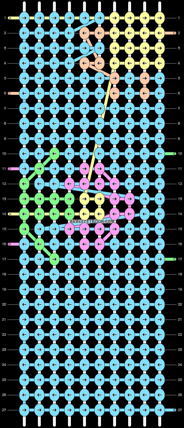 Alpha pattern #18408 pattern