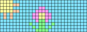 Alpha pattern #18408