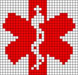 Alpha Friendship Bracelet Pattern #18410