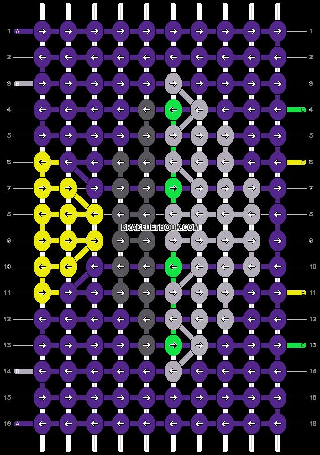Alpha pattern #18411 pattern