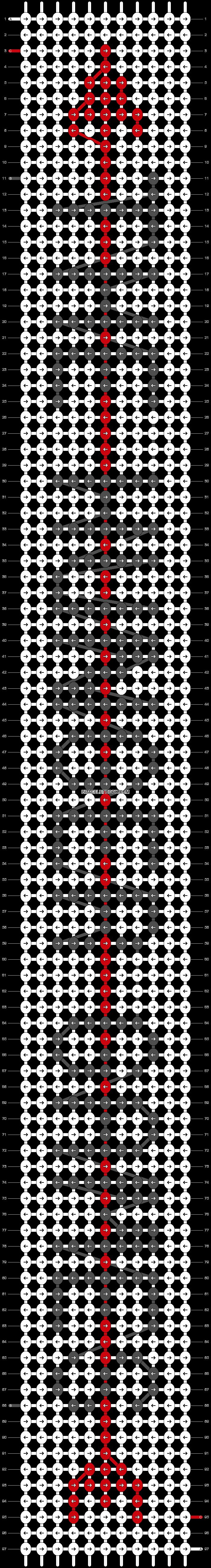Alpha pattern #18412 pattern