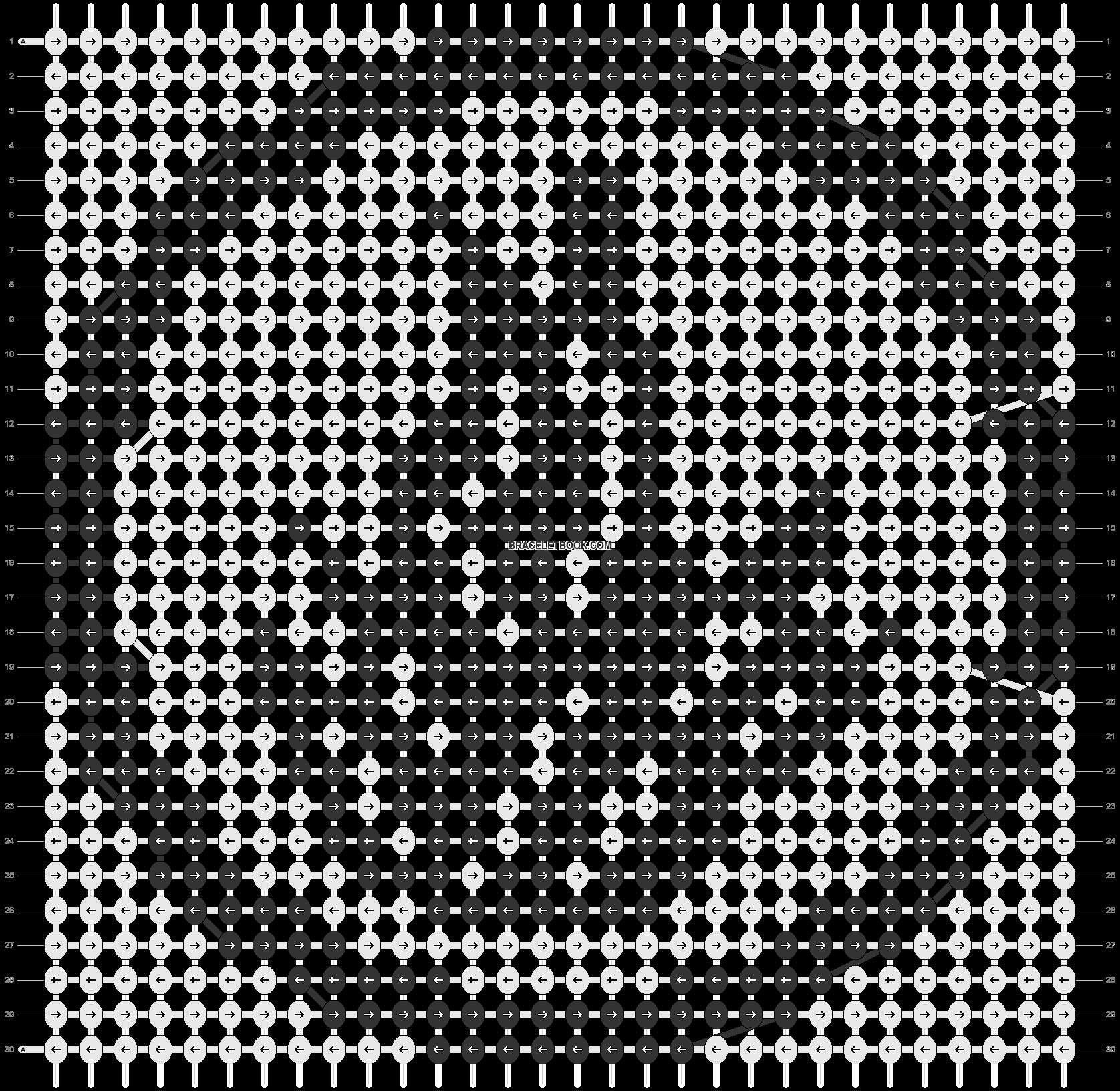 Alpha pattern #18414 pattern