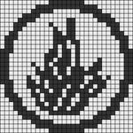 Alpha Friendship Bracelet Pattern #18414