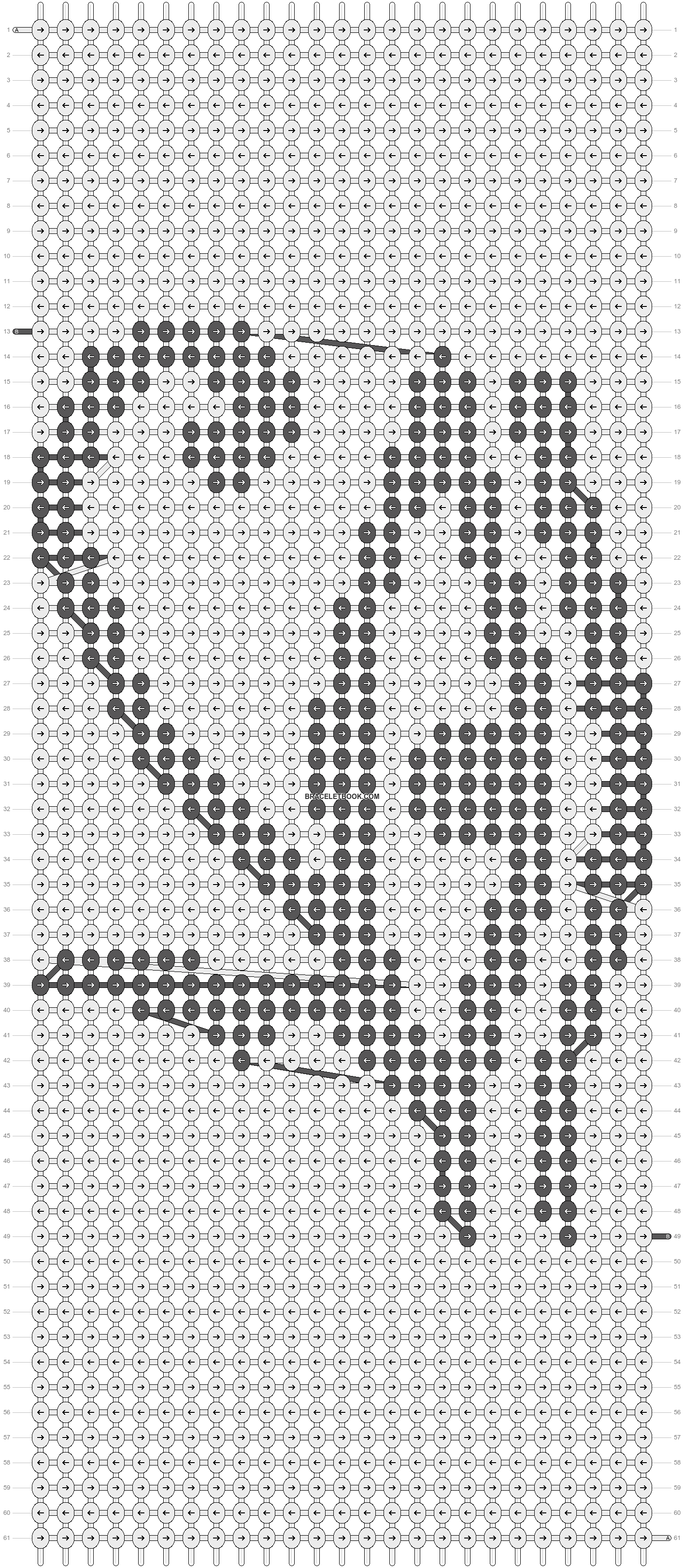 Alpha pattern #18417 pattern