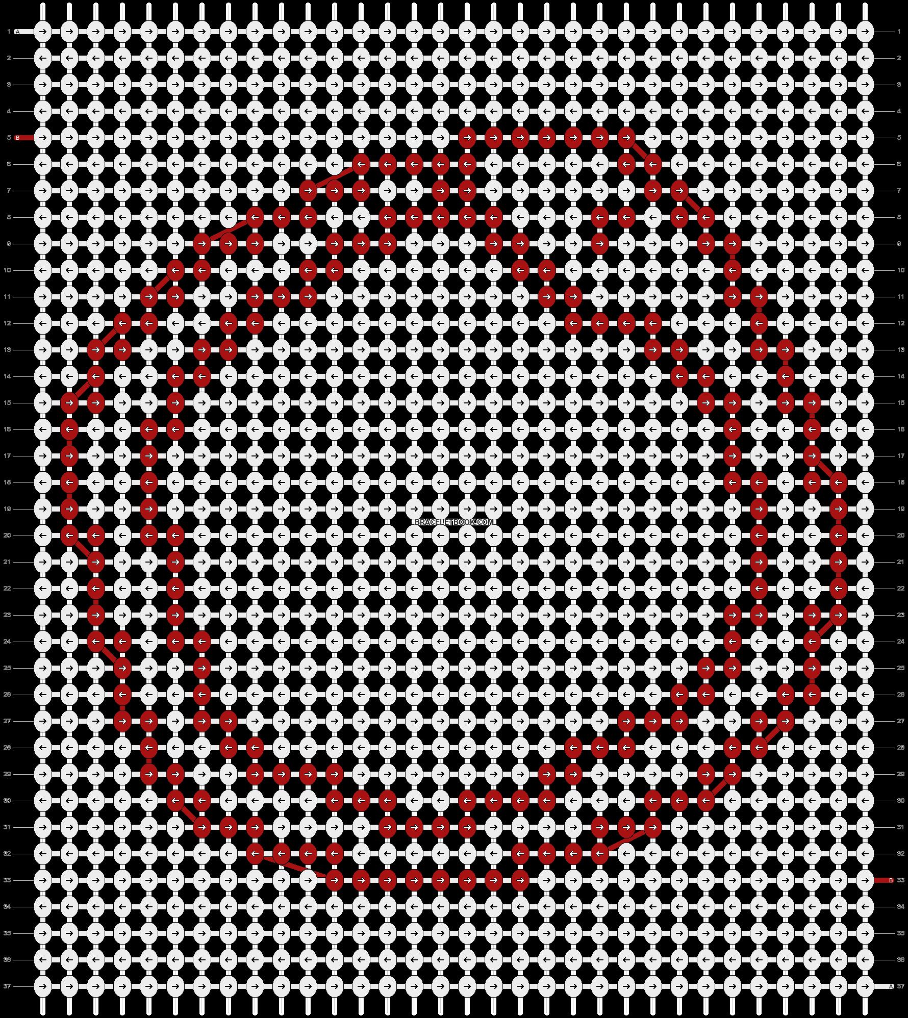Alpha pattern #18418 pattern