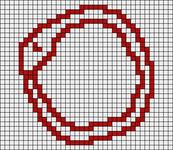 Alpha pattern #18418