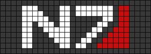 Alpha pattern #18420