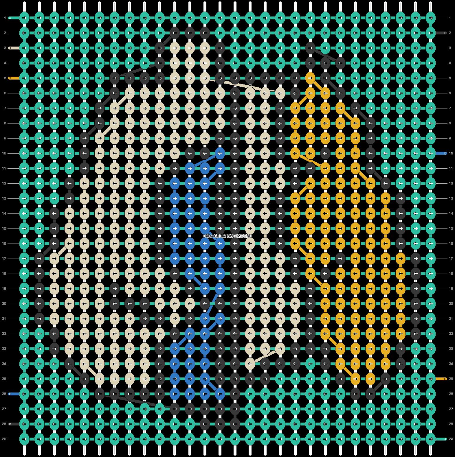 Alpha pattern #18422 pattern
