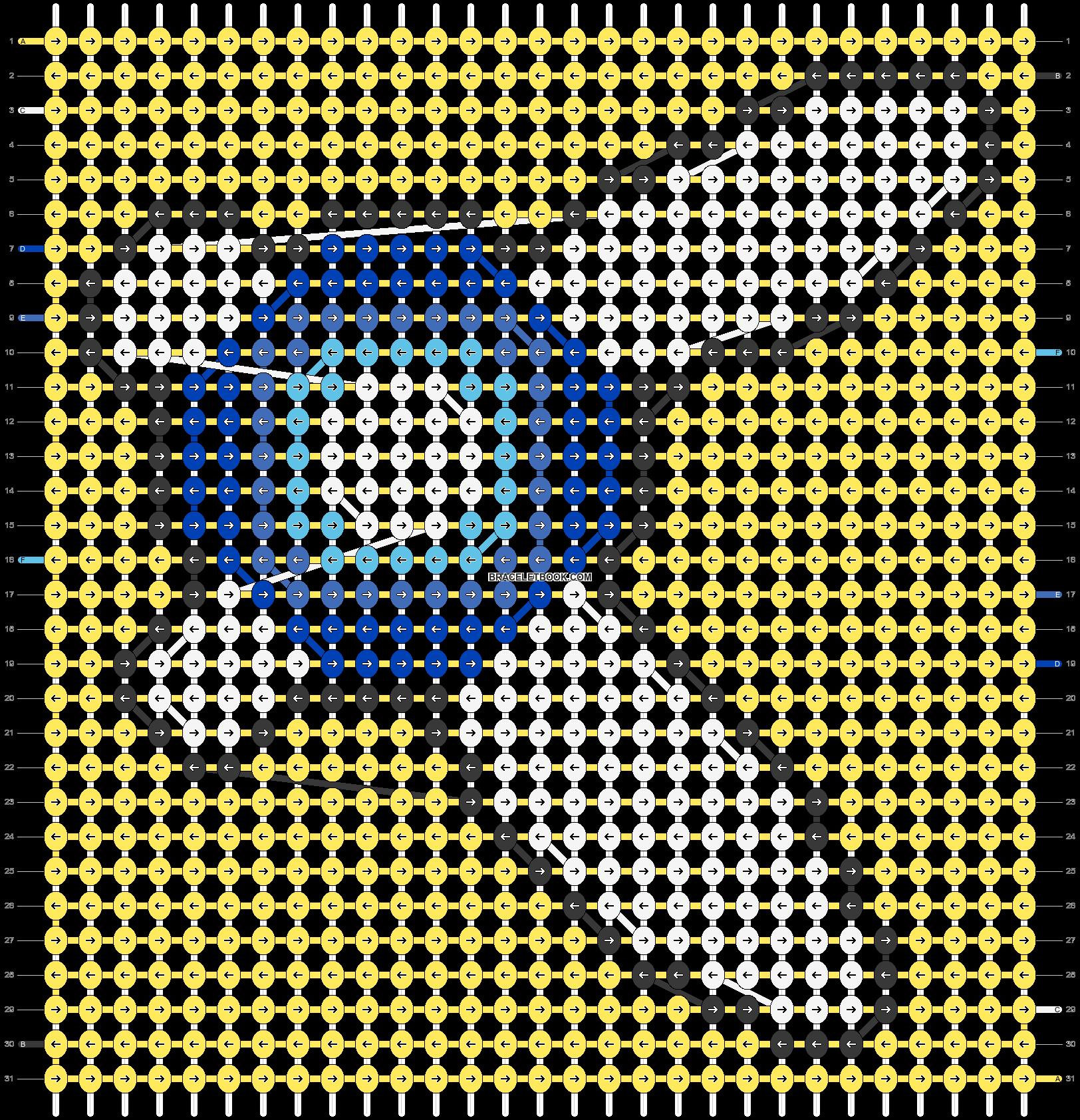 Alpha pattern #18425 pattern