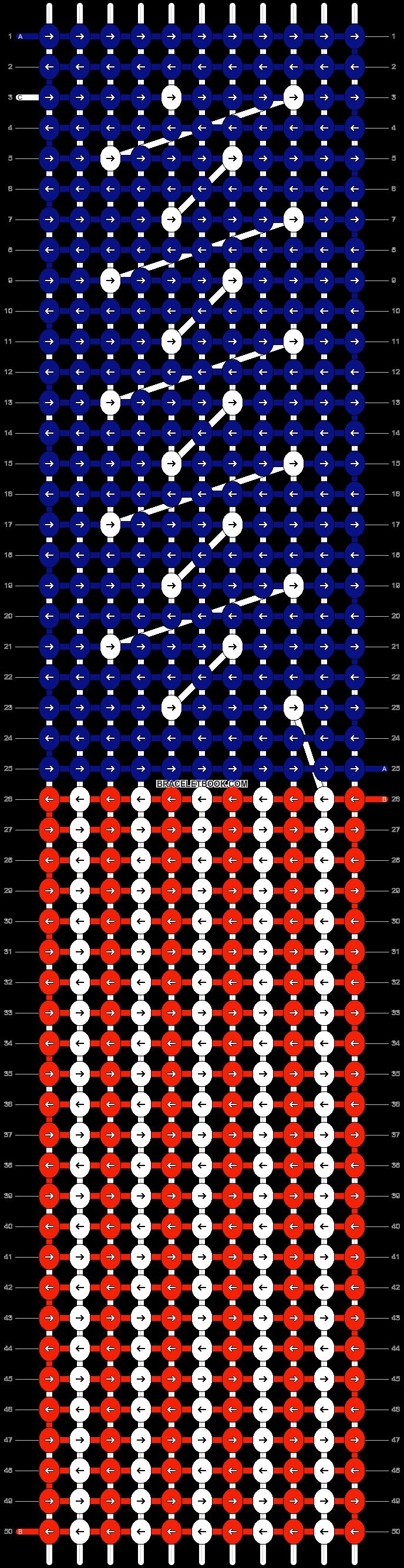 Alpha pattern #18426 pattern