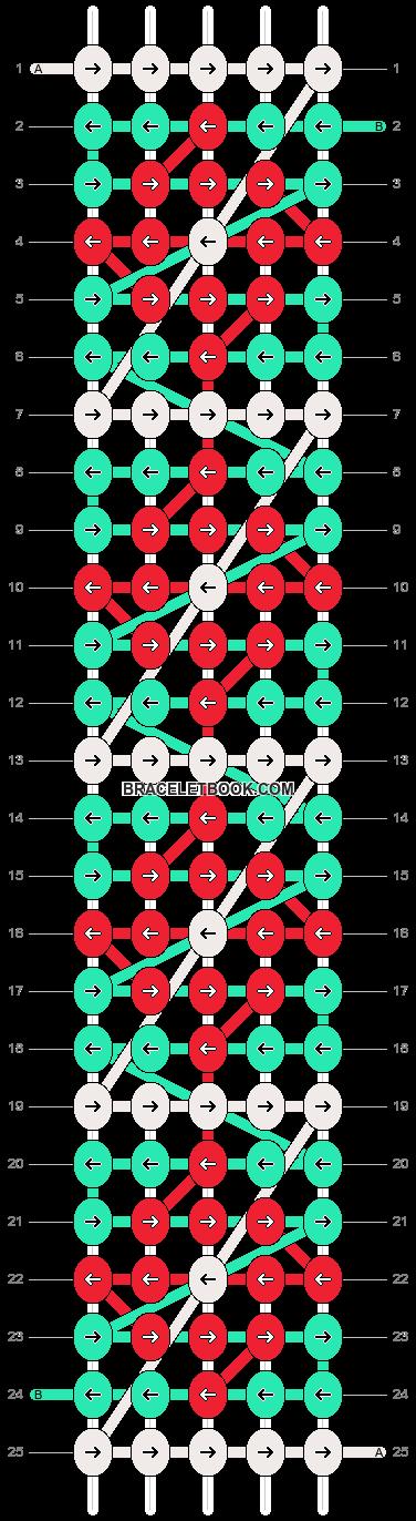 Alpha pattern #18428 pattern