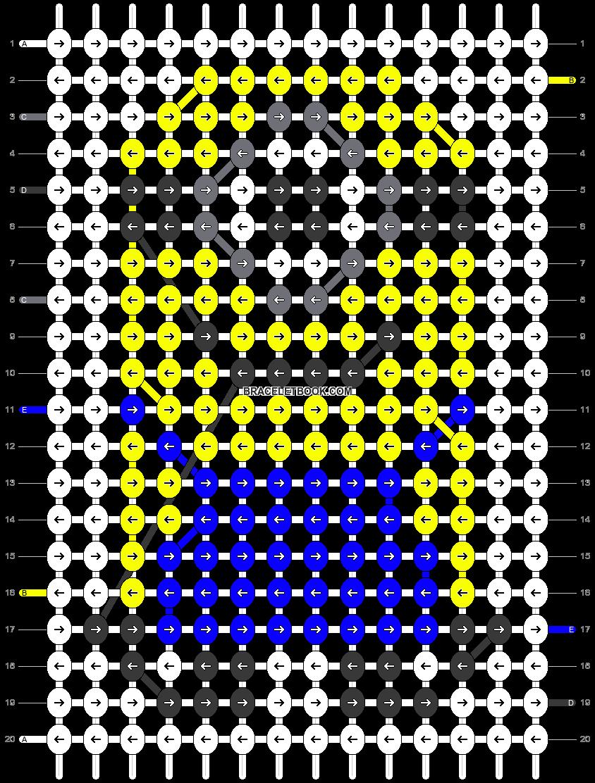 Alpha pattern #18429 pattern
