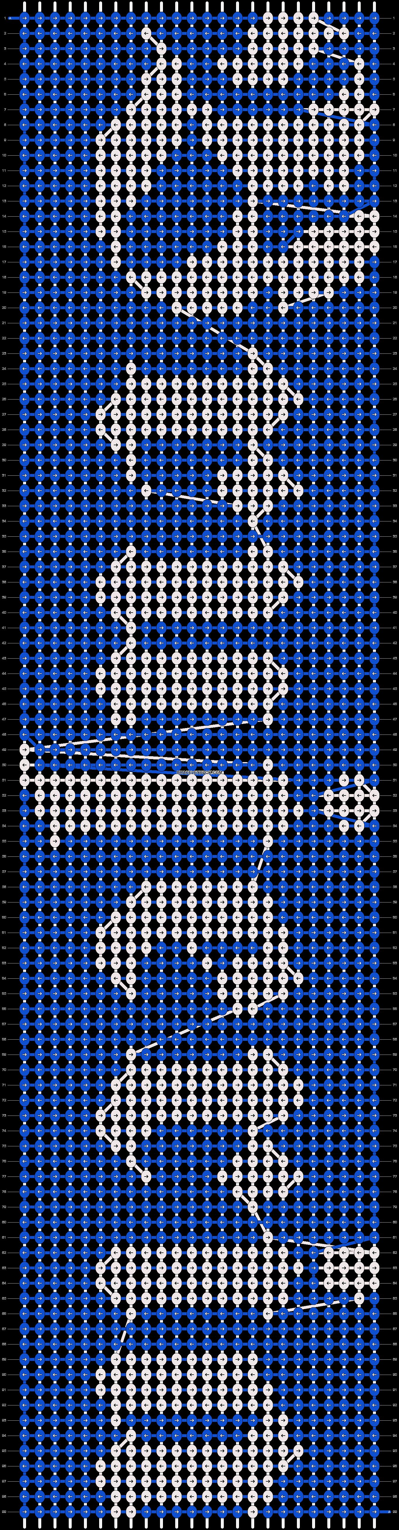 Alpha pattern #18434 pattern