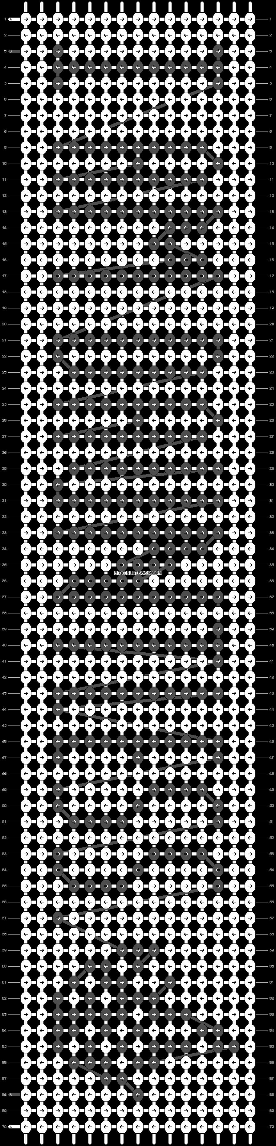 Alpha pattern #18435 pattern