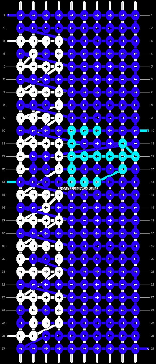 Alpha pattern #18437 pattern