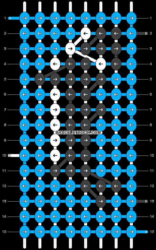 Alpha pattern #18438 pattern