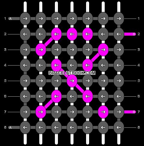 Alpha pattern #18442 pattern