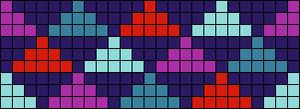 Alpha Friendship Bracelet Pattern #18445
