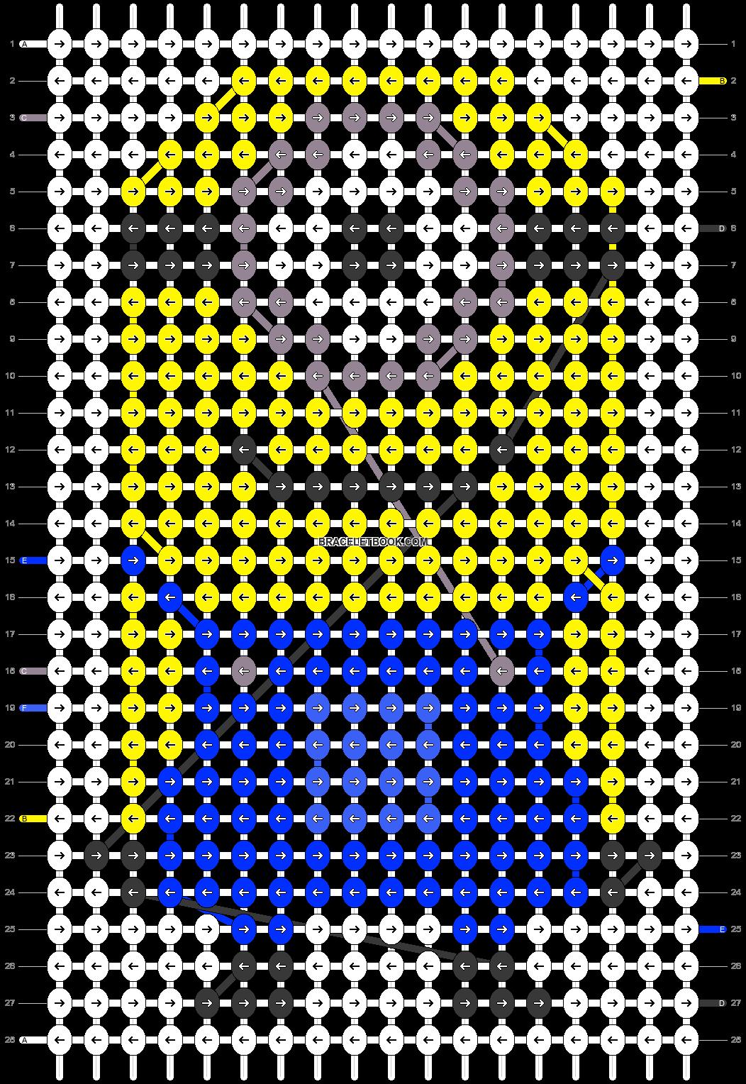 Alpha pattern #18447 pattern