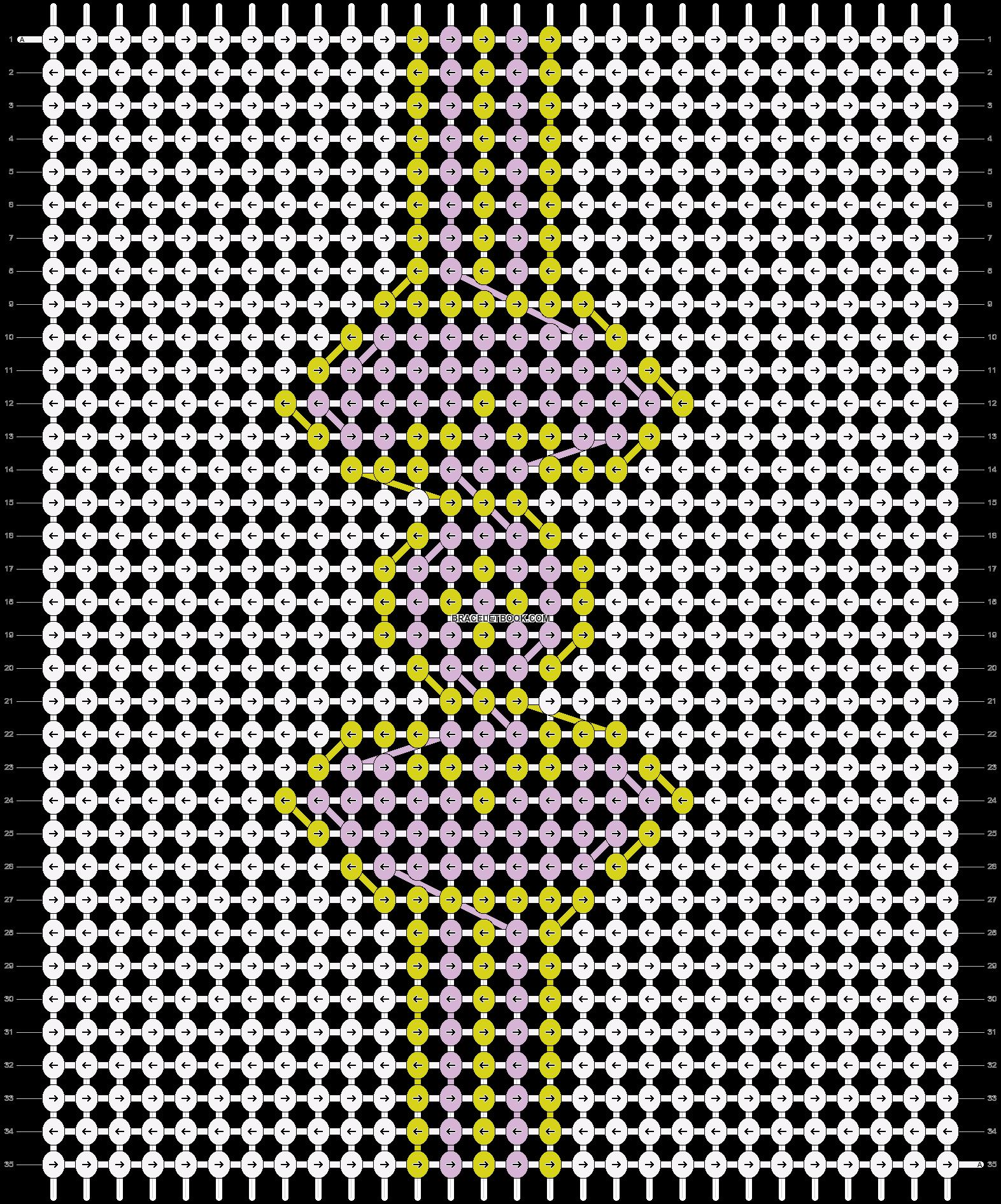 Alpha pattern #18451 pattern