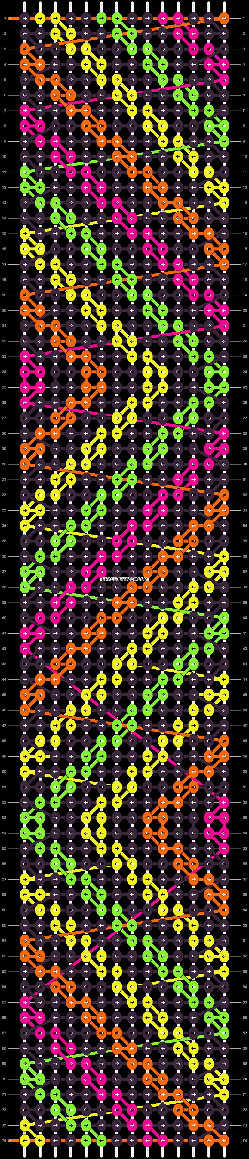 Alpha pattern #18453 pattern