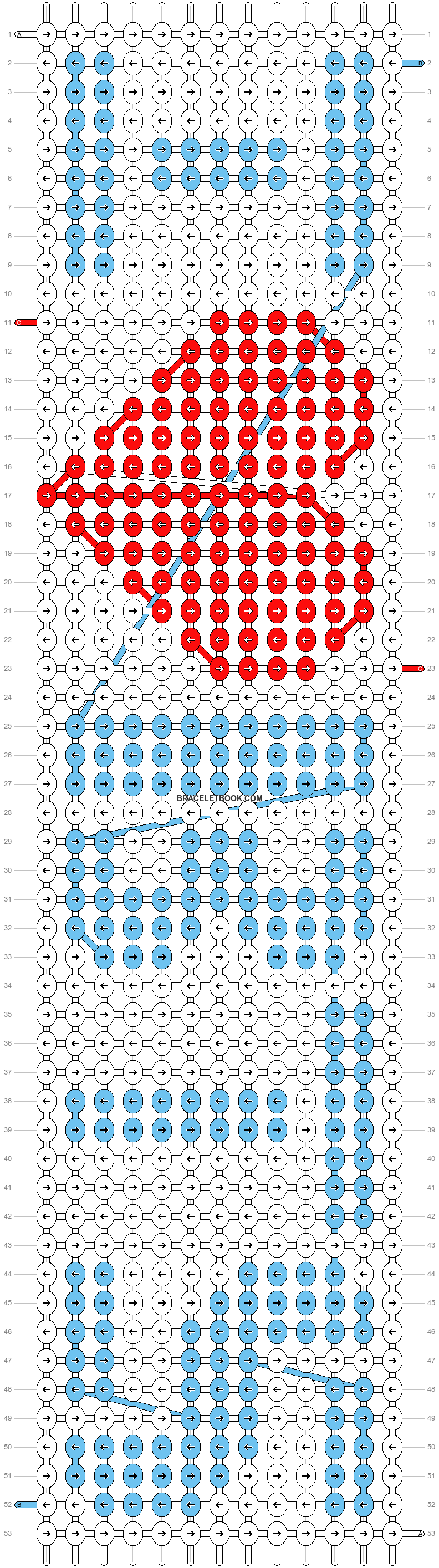 Alpha pattern #18455 pattern