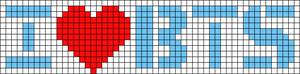Alpha Friendship Bracelet Pattern #18455