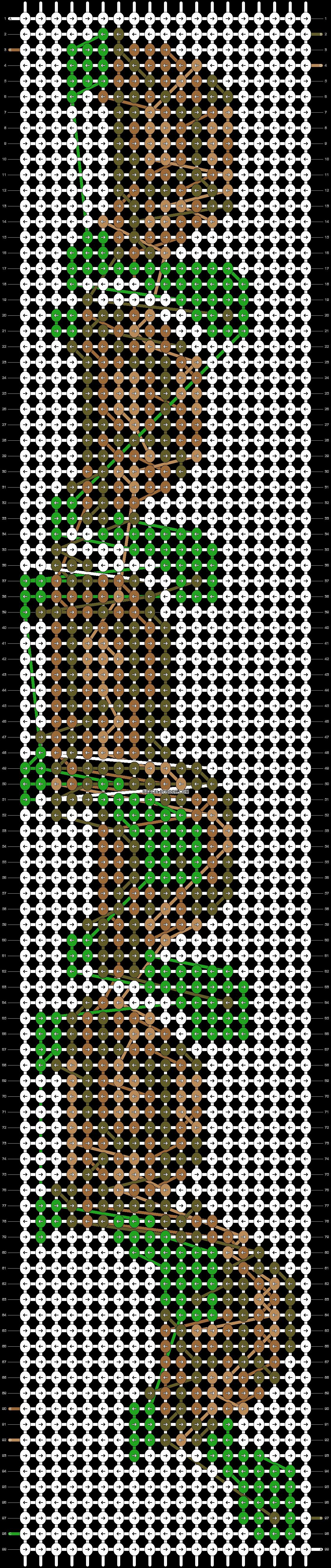 Alpha pattern #18460 pattern