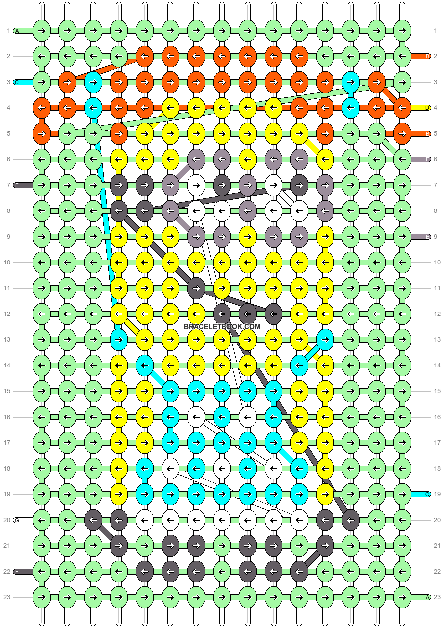 Alpha pattern #18463 pattern