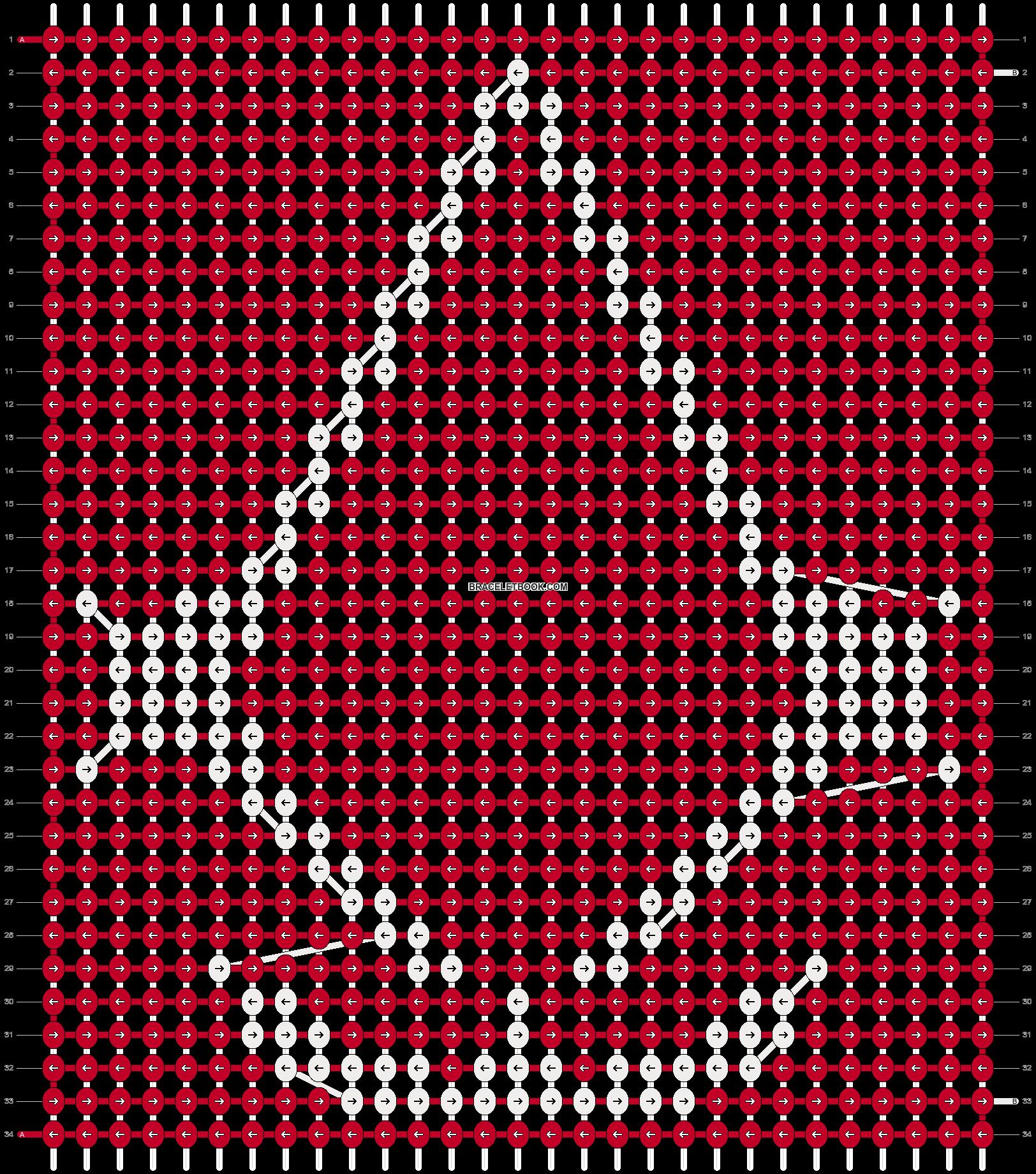 Alpha pattern #18465 pattern