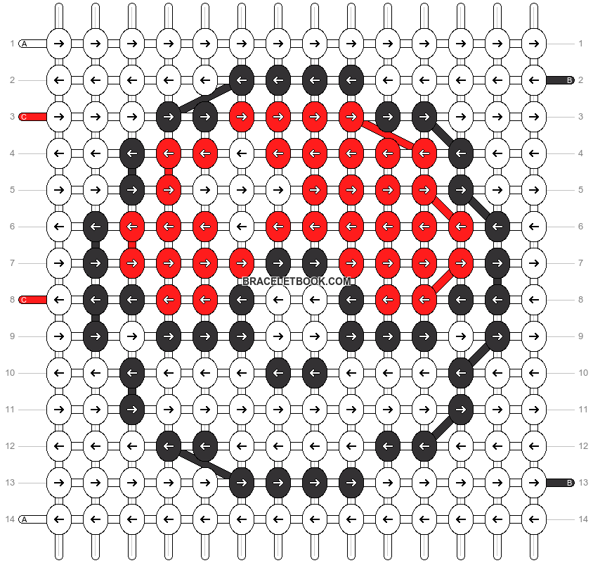 Alpha pattern #18474 pattern