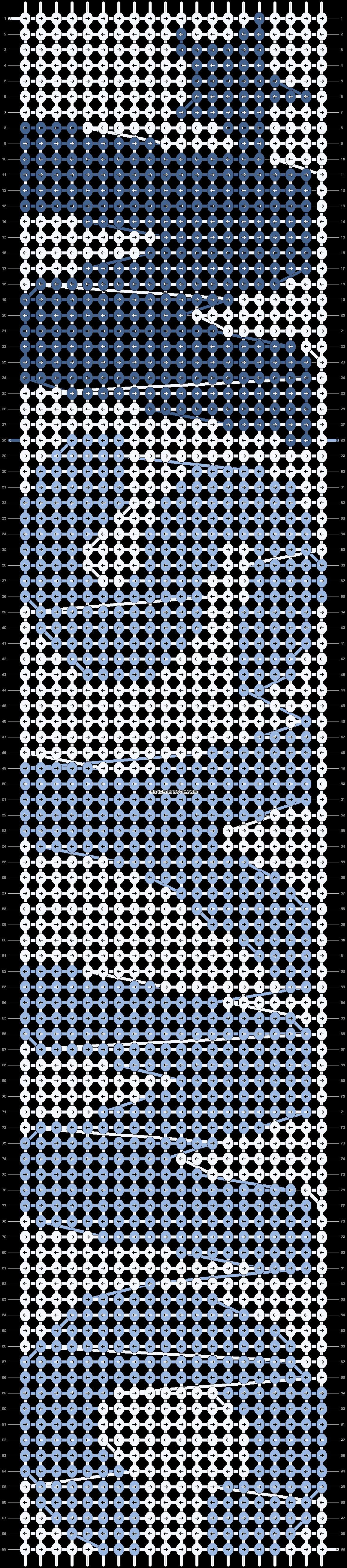 Alpha pattern #18475 pattern