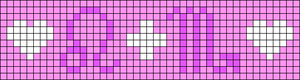 Alpha pattern #18476