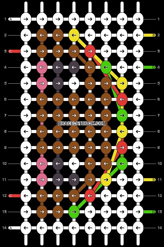 Alpha pattern #18481 pattern