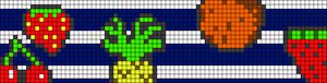 Alpha Friendship Bracelet Pattern #18482
