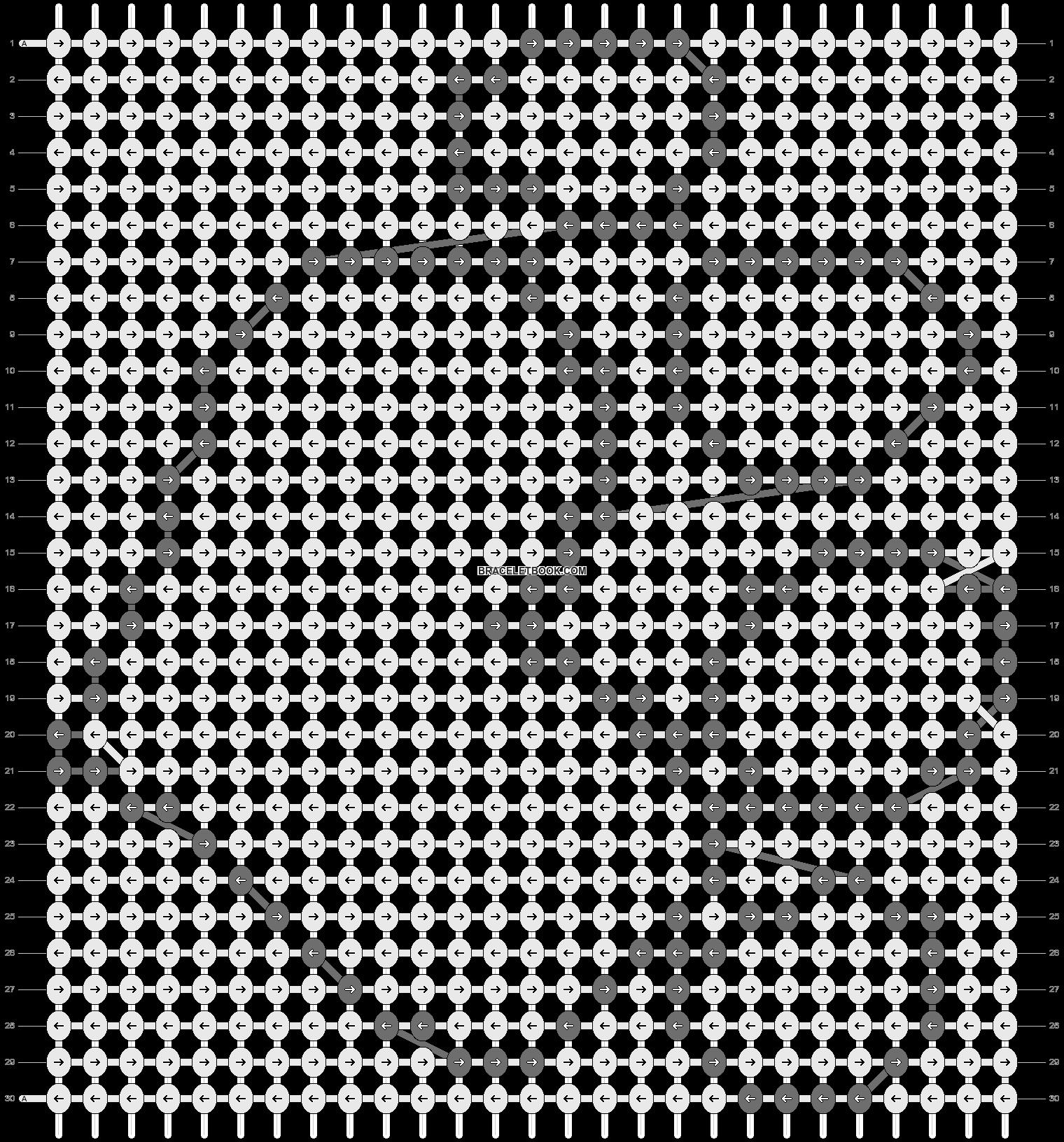 Alpha pattern #18491 pattern