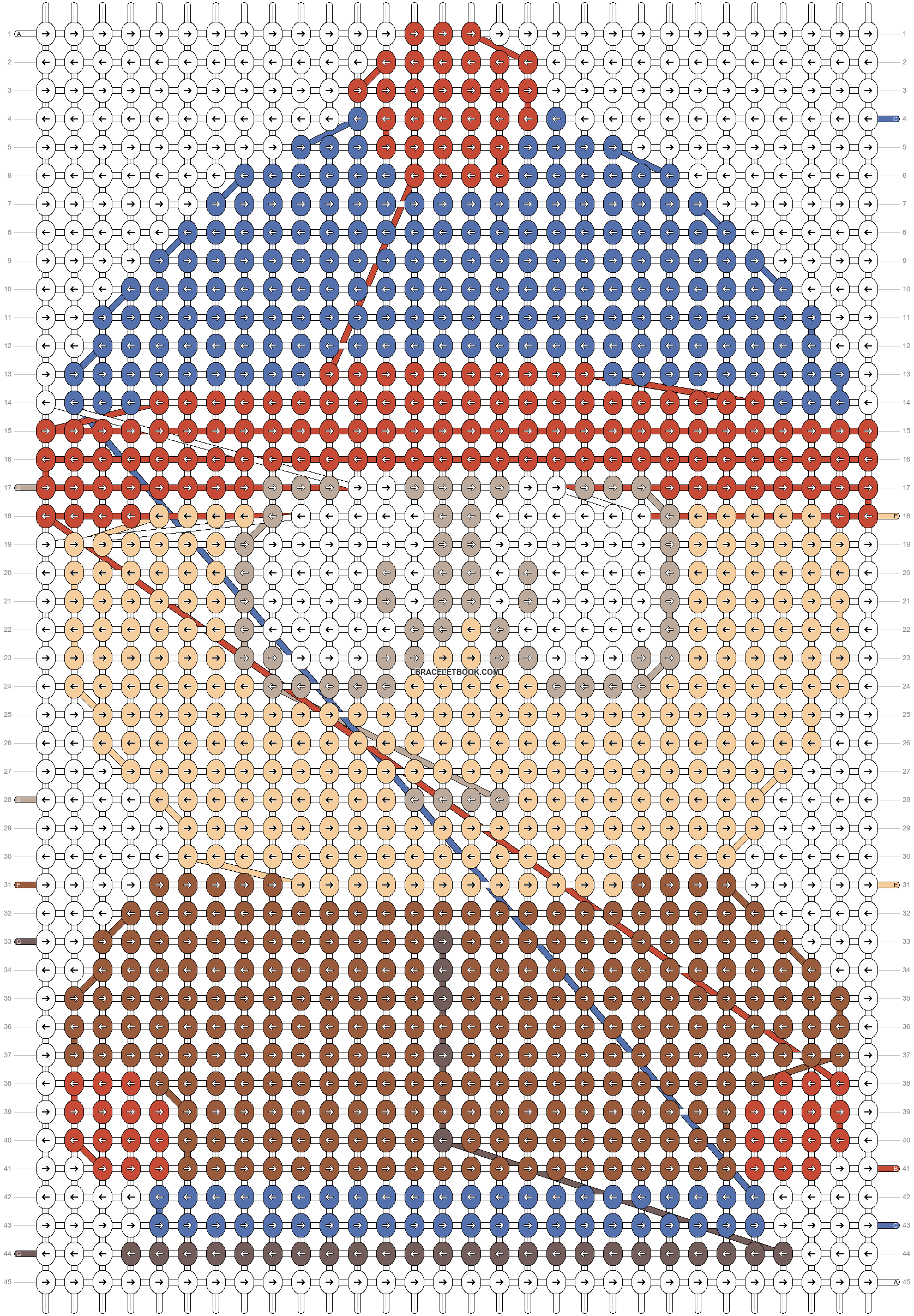 Alpha pattern #18497 pattern