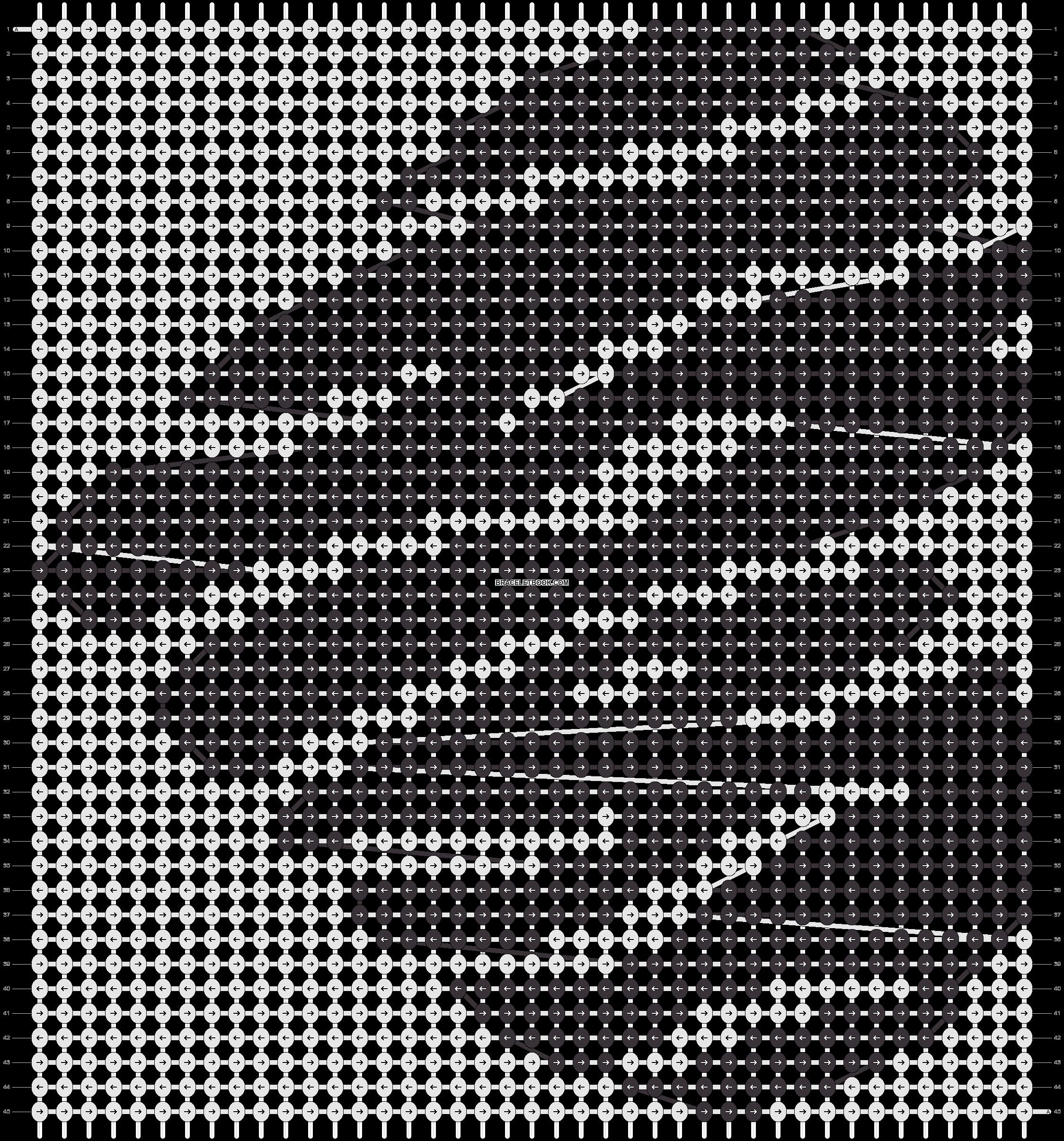 Alpha pattern #18501 pattern