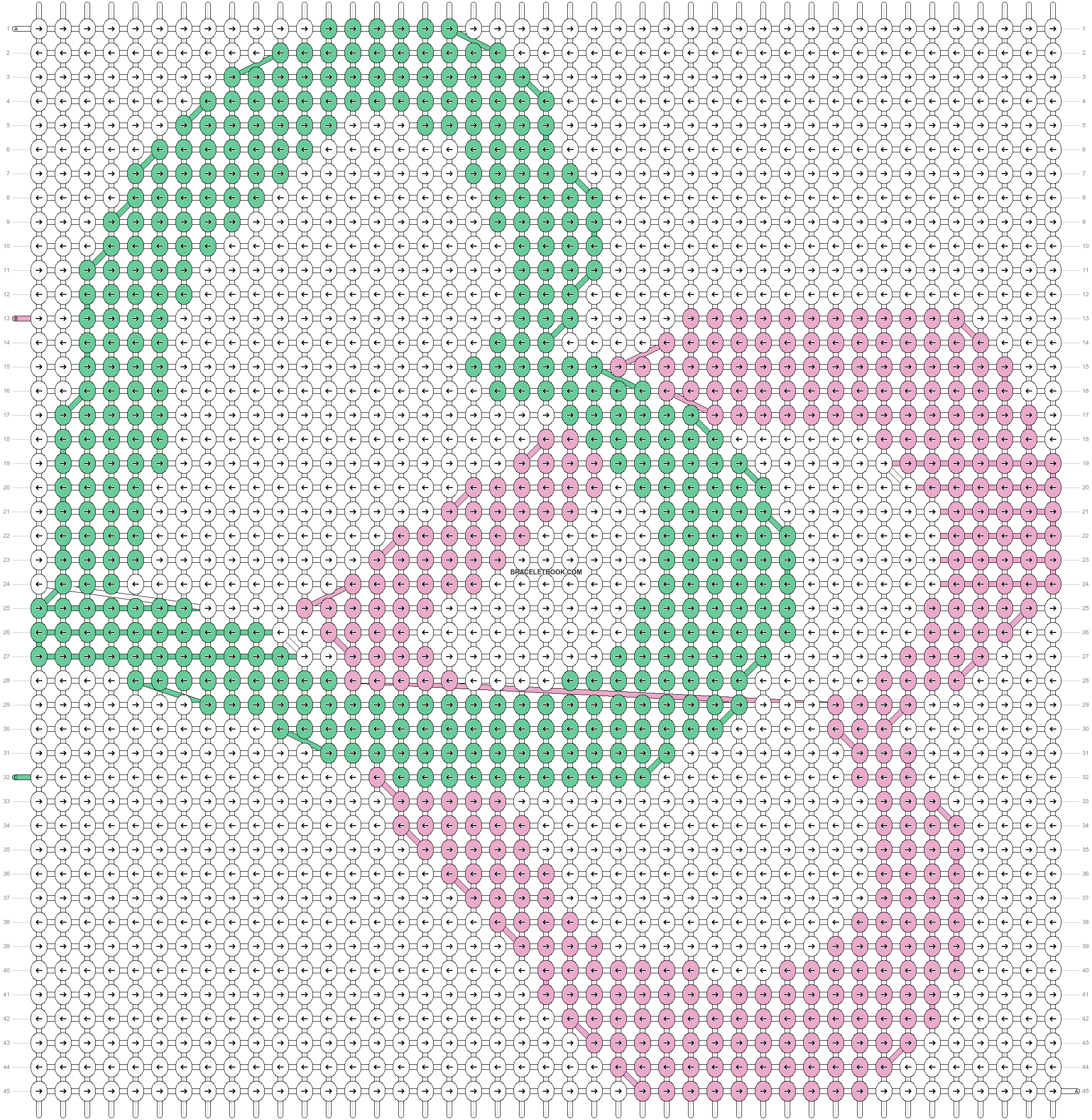 Alpha pattern #18502 pattern