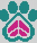 Alpha Friendship Bracelet Pattern #18505