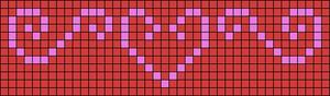 Alpha Friendship Bracelet Pattern #18514