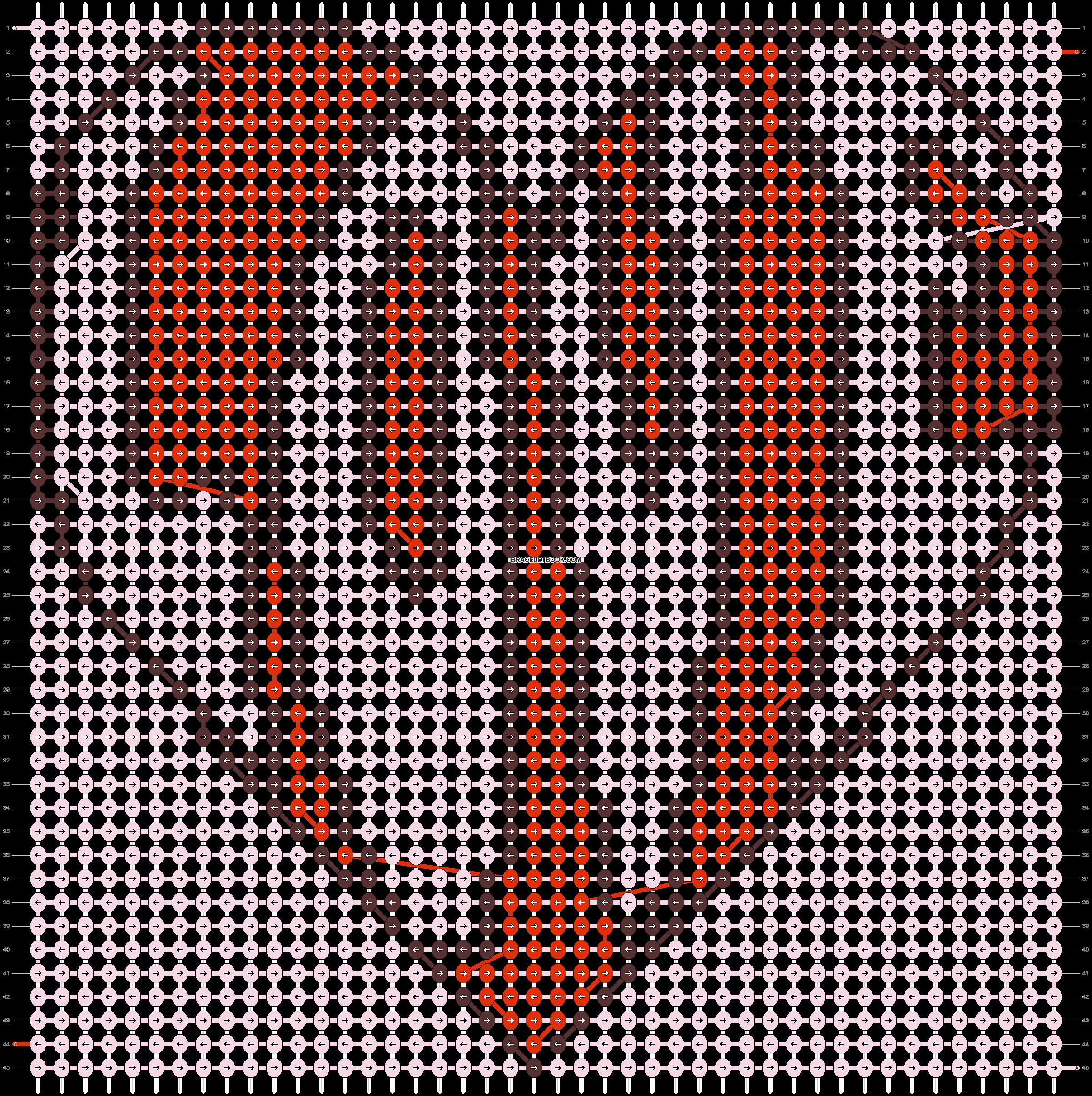 Alpha pattern #18521 pattern