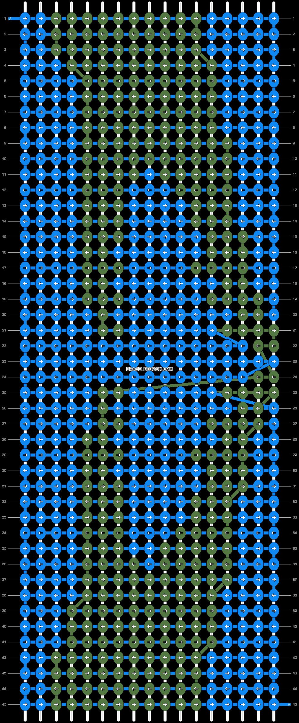 Alpha pattern #18526 pattern